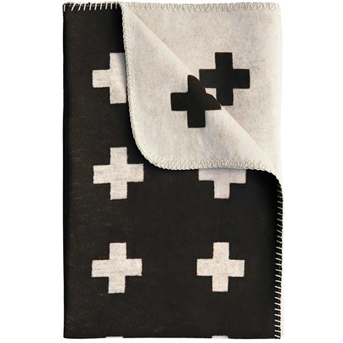 Decke mit Kreuzdesign